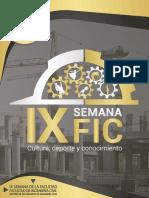 CONCURSOS SEMANA IX FIC