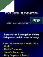 Five Level Prevention
