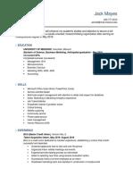 ba3500 resume  1