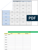Planilla de Excel Para El Control de Alimentacion Semanal (Autoguardado)