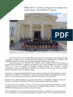 Inceput de Cariera in IT, Erasmus