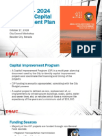 Boulder City Tentative Capital Improvement Plan Presentation and Executive Summary