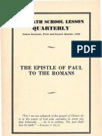 SDARM Bible Study Qtrs. 1 & 2 1956