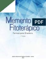 Memento Fitoterápico Pharmaceutical