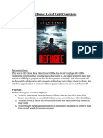 global read aloud  refugee  unit overview