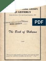 SDARM Bible Study Qtrs. 1 & 2 1957