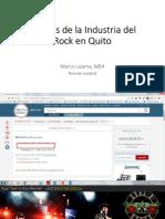 Ponencia - Estudio del funcionamiento de la Industria del Rock en Quito