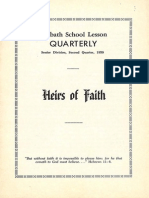 SDARM Bible Study Qtr. 2 1959
