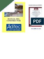 ADITEC MANUAL DEL CONSTRUCTOR ACTUALIZADO