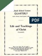 SDARM Bible Study Qtr. 4 1959