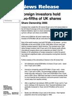 UK Share Ownership 2006