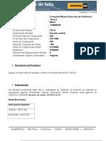 Tn13 Pasador Central Informe Es Rechazado