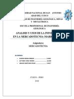 Informe de Mercado