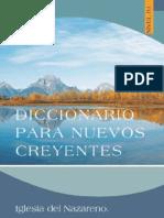 ES Diccionario Para Nuevos Creyentes