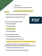 Scaled Agile draft exam mockup