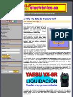 El Alfa y La Beta Del Transistor BJT