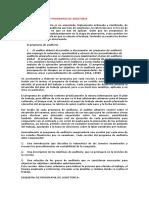 Elaboración de Los Programas de Auditoria