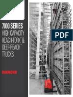 Raymond7000 Series High Capacity Reach Trucks Brochure