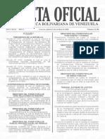 Gaceta Oficial 41.501