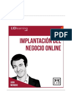 Implant a Cinde Negocio Digital