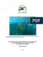 2013 - TAMA CE - LEvantamento Das Principais Artes de Pesca Utilizadas Na Comunidades Pesqueiras Na Área de Atuação Do Projeto Tamar - ICMBio