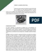 Fierros y La Madera Estructural