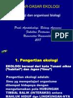 1 Ekologi Dan Organisasi Biologis
