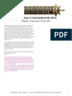 Age of Sigmar Generals Handbook Designers Commentary En