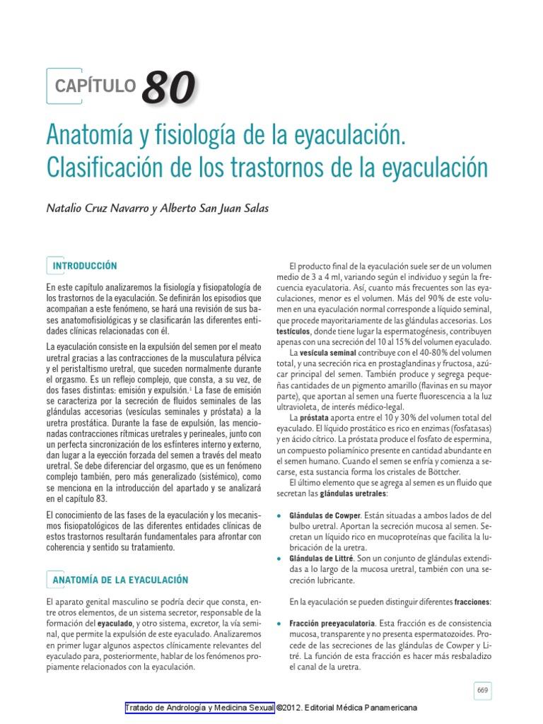 trastorno eyaculatorio retrógrado