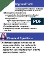 Chem Balancing Equations