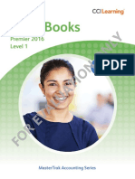 1761 1 QuickBooks 2016 Level 1 Sampler