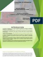 """Evidencia 5 Artículo """"Canales y Redes de Distribución"""""""