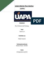 Tarea 2 y 3(Etica Profesional del Psicologo-Maritza Paulino).docx