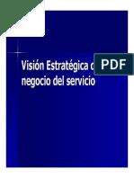 Vision Estrategica Del Negocio Servicio