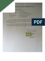 Surat Pernyataan Pindah