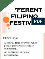 Different Filipino Festival