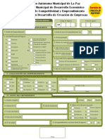 2. Servicios en Marcha - Formulario de Registros