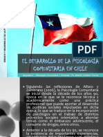 03. El Desarrollo de La Psicologia Comunitaria en Chile