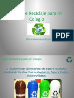 Presentación Reciclaje Paula Guerrero
