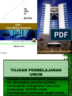 Pengenalan Dupak Penilaian Jabatan Fungsional Aparatur Sipil Negara