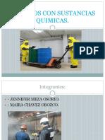 Trabajos Con Sustancias Quimicas