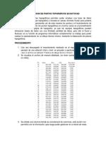 Importacion de Puntos Topgráficos en Autocad
