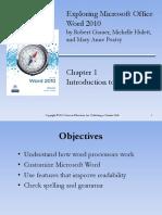 Exploring Microsoft Office Word 2010