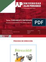 FE SEMANA 6-Proceso de Dirección
