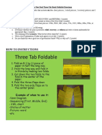 Three Tab Foldable ND