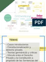 CONSTITUCIONALIZACIÓN DE DERECHO PRIVADO