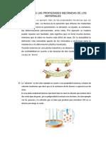 Ejemplos de Las Propiedades Mecànicas de Los Materiales