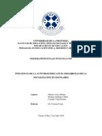 Arias M, Sanhueza R & Vidal C (2018)