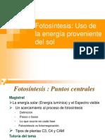 Fotosintesis I