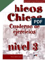 Chicos y Chicas 3 Cuaderno de Ejercicios
